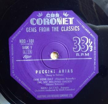 6011 Puccini 1959 label